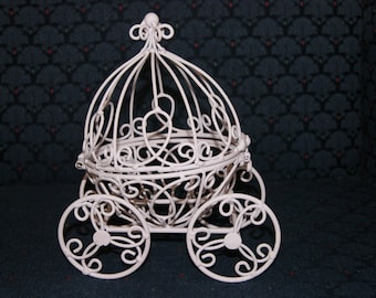 White Cinderella Pumpkin Carriages - Great for Decoration for Wedding or Baby Shower
