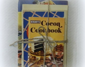 5 Vintage Cookbooks, Hersheys Cocoa Recipes, Frigidaire Recipe Book, Westinghouse Cook Book