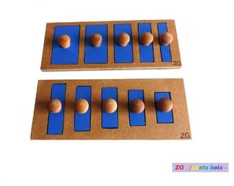 LOT 2 Puzzles unseen / MONTESSORI interlocking
