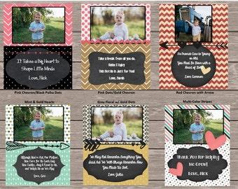 Custom Valentines Wine Label for Caregiver/Teacher