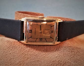 14K Solid Gold Longines Watch