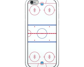 Hockey Rink iPhone Case