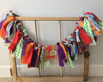 Hungry Caterpillar Fabric High Chair Banner
