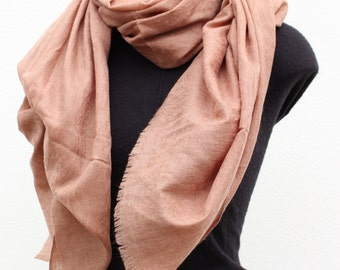 Cashmere Scarf - Rosewood