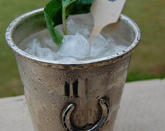 Horseshoe Drink Stirrer / Kentucky Derby Party / Western Party / Set of 25 / Cocktail Stir Stick / Coffee Stir Stick