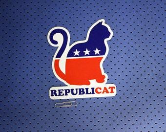 Republicat Bumper Sticker