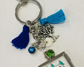 One Cool Keychain with a Little Shimmer and Shine-Camp On! ® Trademark Brand