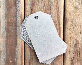 Large Kraft Cardstock Tags 3.5 x 2 Inch Blank