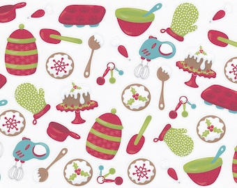 Christmas Planner Stickers | Baking Planner Stickers | Great For Erin Condren Life Planner | Use In Happy Planner | CA002