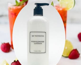 Grapefruit Mimosa Lotion with Shea Butter Body Lotion, Face Lotion, Hand Lotion, Gentle Lotion, Wholesome Lotion, Citrus lotion