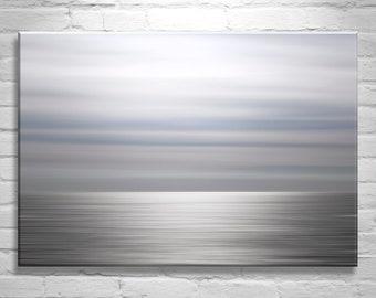 Ocean Art, Abstract Photography, Contemporary Art, Modern Art, Minimalist Art, Water Art, Blue Gray Art, Home Decor, Ocean Photography