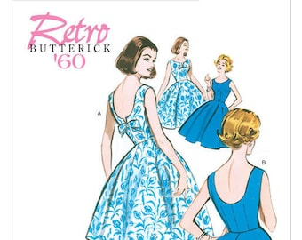 Vintage by B5748 retro Butterick sewing pattern