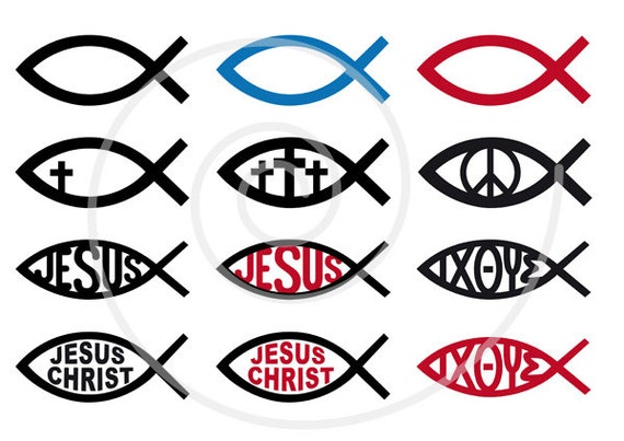 jesus christ digital clip art christian clipart fish sign rh etsy com christian clipart free download christian clipart image of hand of god