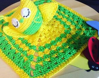 OWL crochet blanket
