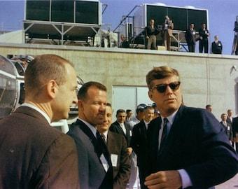 John Kennedy at Cape Canaveral on November 16, 1963
