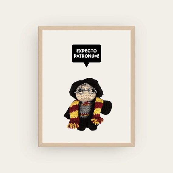 Harry Potter: Expecto Patronum! Amigurumis Prints.