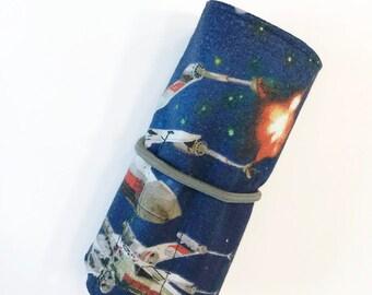 Star Wars Crayon Roll