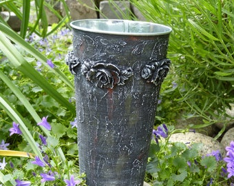 Hand finished Decorative Flower Vase