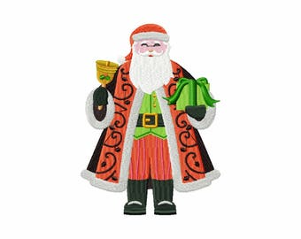 Machine Embroidery Design - North Pole Character #01