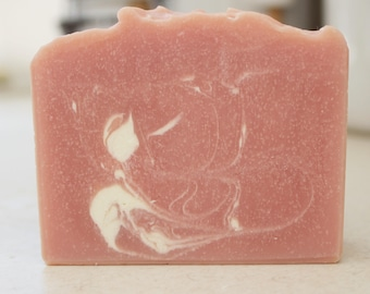 Be Mine, Handmade Soap, Cold Process soap, Artisan Soap, Valentine's Day, Pink