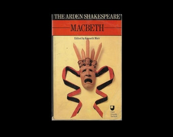 1980 Paperback. The Arden Shakespeare. Macbeth. University Paperback. Literature Student. Open University Set Book.