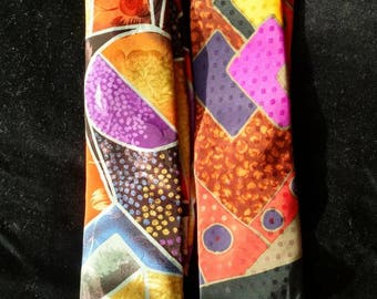 Are you or know someone not afraid of color? Then these abstract pattern Florenzi ties are for you!