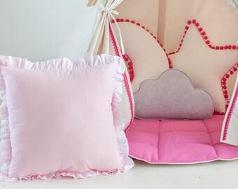 """pillow-cushion-oreiller- das Kissen """"pastel pink"""""""