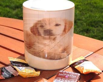 Mug céramique , chien, labrador, tasse à café, cofee, tea