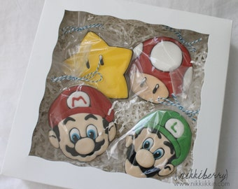 Super Mario Brothers Cookies