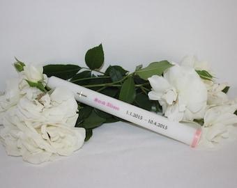 Personalised Memorial Candle