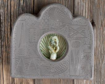 sculpture - shrine - forest altar - wall art