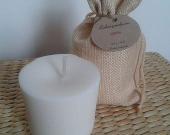 Refill candle scented with lychee