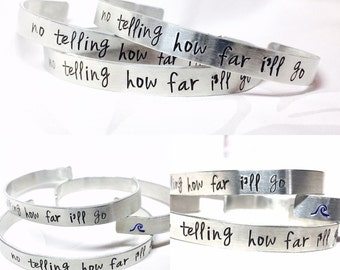 Moana Inspired Bracelet, No Telling How Far I'll Go, Hawaiian Jewelry , Women's Bracelets, Moana Birthday, Bracelets, Handmade Bracelets