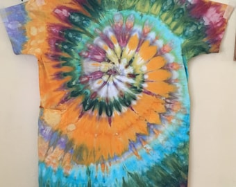 Tie-dye t-shirt dress 3X
