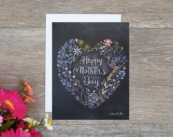 Mother's Day Heart Flower