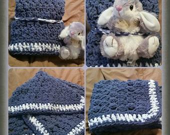 Baby Blanket - Stuffed Animal optional