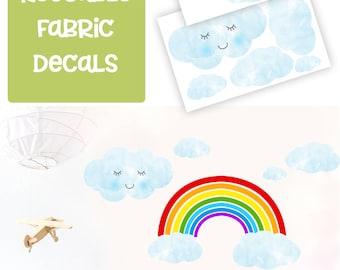 Rainbow wall decals/ Rainbow decor/ Rainbow decals/ Rainbow wall stickers/ Rainbow art/ Boys Rainbow Decal
