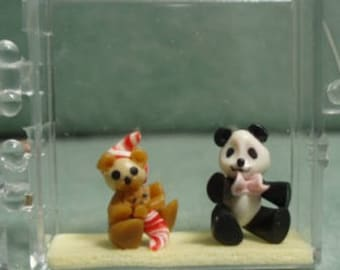 Hand Made Half Inch Scale Toy Bears