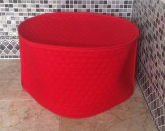 Red Oval Crock Pot Cover for 6 Quart Slow Cooker Covers Kitchen Small Appliance Covers Made to Order