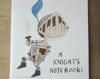 Illustrated Notebooks: Knight in Shining Armour