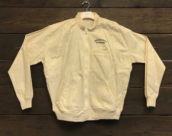 Vintage 80s Hussings Cantina Zip-Up Jacket