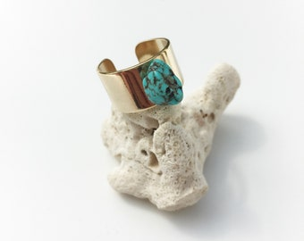 """""""Zoé"""" Turquoise ring"""
