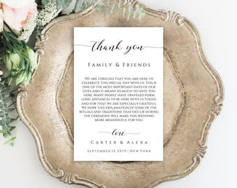 Thank You Card, Wedding Thank You, Wedding Cards, Printable Thank You, Thank You Wedding, Thank You Template, Thank You Gift, Greeting Cards