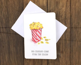 Popcorn – Greeting Card