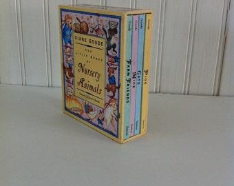 Nursery rhymes - little books- nursery rhyme books-mini books-book set- stocking stuffers