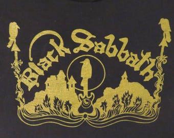 BLACK SABBATH Van Halen 1978 T SHIRT original true vintage