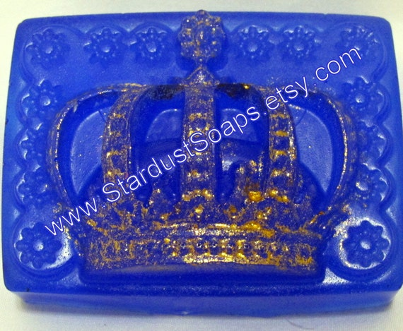 Royal King Luxury Soap - Handmade, Hand painted 85g