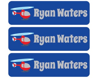 Waterproof Preschool Labels