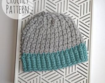 Emery Hat Crochet Pattern, Crochet PDF Pattern, Bulky Weight Yarn, Medium Weight Yarn, PDF Download