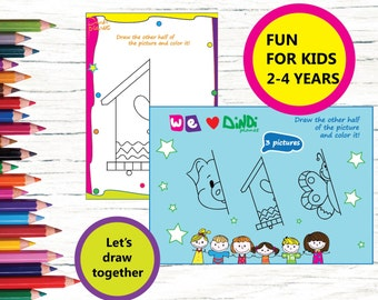 Printable Worksheets for Kids, Study, Instant Download, Printable Worksheets Pages,| Gifts for Kids | Kids Craft Activity